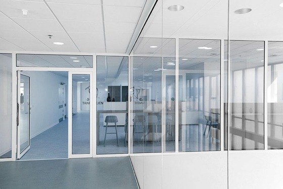Fire Rated Partition Walls : Triplan fire rated glass walls