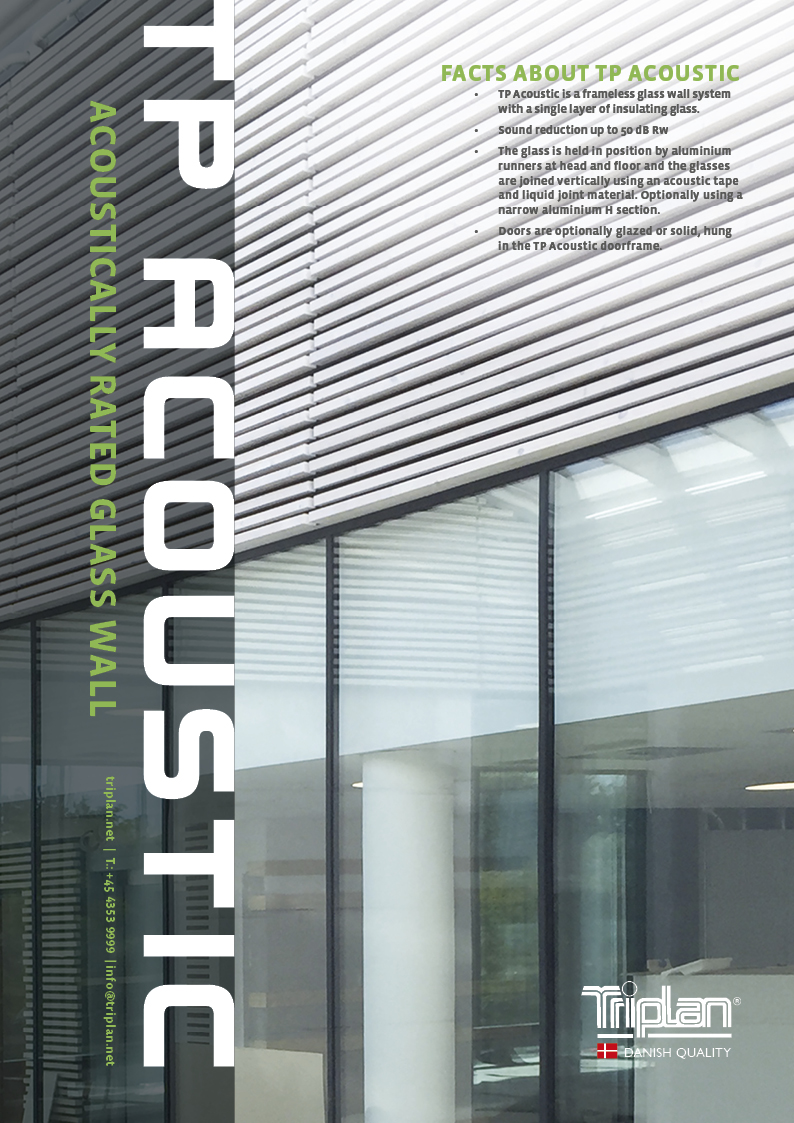 TP Acoustic product brochure